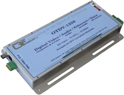 OTDV-1250 Fiber Optic Broadcast Transport Link